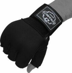Dynamite Fight Gear Dynamite Gel Bandage-Gel Wraps - Binnenhandschoen - Zwart / Wit- S/M