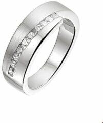 Quickjewels huiscollectie Huiscollectie 1316170 Zilveren zirkonia ring