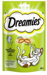 Dreamies Kattensnoepjes - Tonijn - 60 gram