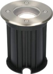Roestvrijstalen HOFTRONIC™ Maisy dimbare LED grondspot rond RVS 5W 6000K IP67 straal waterdicht 3 jaar garantie