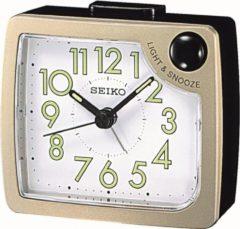 Creme witte Seiko wekker - QHE120G - electronisch piep alarm