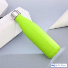 Go Go Gadget Waterfles | thermosfles | rvs | duurzaam | schoon | 500 ml | groen