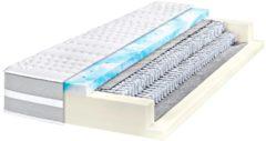 Micro-Taschenfederkern Matratze Gigant 7-Zonen Breckle weiss