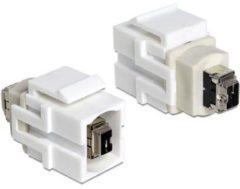 Quality4All Keystone-Modul FireWire 4-Pin-Buchse DeLOCK > FireWire 4-Pin-Buchse