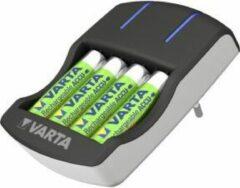 Varta Plug Lader Batterijlader Incl. oplaadbare batterijen NiMH AAA (potlood), AA (penlite)