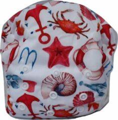 Rode Blije Billetjes Wasbare Zwemluier Klein Marine Life