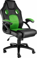 Tectake - Bureaustoel Racing Mike zwart / groen - 403455