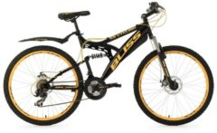 Fully-Mountainbike, 26 Zoll, schwarz, 21 Gang Kettenschaltung, »Bliss«, KS Cycling