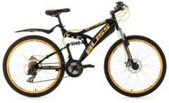 Fully-Mountainbike, 26 Zoll, schwarz, 21 Gang Kettenschaltung, »Bliss«, KS Cycling