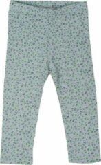 R Rebels | Katoenen baby legging | Groene bloemenprint | Maat 80