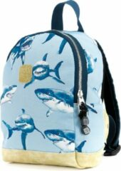 Lichtblauwe Pick & Pack Shark Backpack XS / Light blue