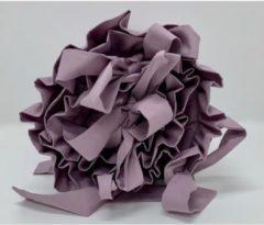 Paarse Dolly Hoofdbeschermer Ruches Dusty Lavender - Bedbumper - Bedomranding