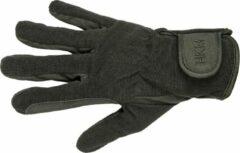 HKM Rijhandschoenen -Special- hoogwaardig imitatieleer zwart/zwart XL