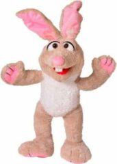 Beige Living Puppets handpoppen dier haas 62cm
