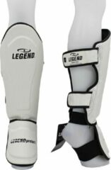 Legend Sports Scheenbeschermers kickboksen Legend Best Wit XS