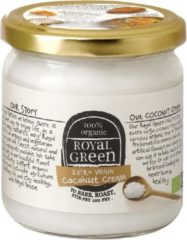 Royal Green Royal groen Kokos Cooking Cream Extra Virgin (325ml)