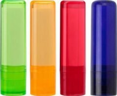 Rode Merkloos / Sans marque Lippenbalsem Set Lippen balsem transparant 4 stuks | lipbalm SPF15 UVA en UVB bescherming |nieuw 2020 | Zeer hoge beschermingsfactor
