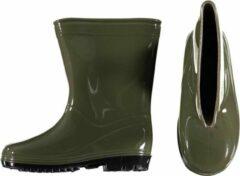 Xq Footwear Regenlaarzen Halfhoog Junior Rubber Groen Maat 30