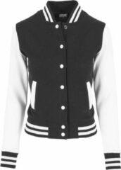 Urban Classics College jacket -3XL- 2-Tone Sweat Zwart/Wit