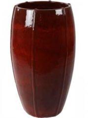 Ter Steege Moda bowl high bloempot 43x43x74 cm rood