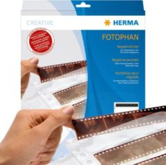 HERMA Negative pockets transparent for 10 x 4 negative stripes 100 pcs. (7768)