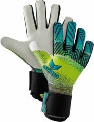 Erima Keepershandschoenen - Maat 8.5 - Unisex - Neon geel - blauw - zwart