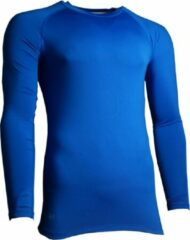 Precision Training Thermoshirt Basislaag Junior Polyester Blauw Maat M