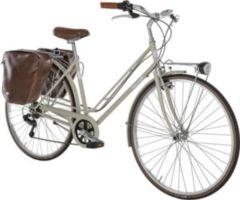 28 Zoll Damen City Fahrrad 6 Gang Alpina... creme