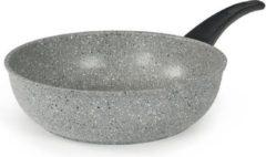 Grijze Flonal Dura Inductie Sautépan 1 h. 28 cm