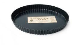 Zwarte Bakmeester Claes taartvorm losse bodem 30cm