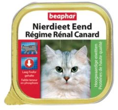 Beaphar Nierdieet Kat 100 g - Kattenvoer - Eend - Kattenvoer