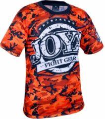 Joya Sportshirt - Maat 140 - Unisex - zwart/grijs/rood/wit