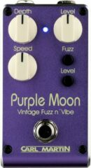 Carl Martin Purple Moon Dual Speed Vintage Fuzz n' Vibe Pedal