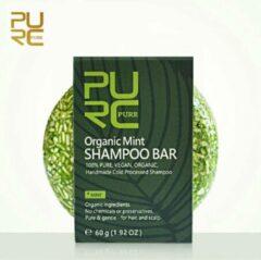 PURC Organic Munt Shampoo Bar 60g - vegan en geen chemicalen