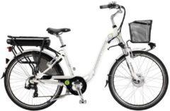 26 Zoll Damen Elektro Trekking Fahrrad 7 Gang Adriatica E1 Lady Adriatica weiß