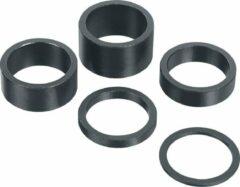 Grijze Xtasy Opvulring Balhoofd Aluminium 1 1/8 Inch 20mm Zwart