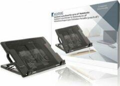 Zwarte König Konig CSNBC200BL Notebook Stand Plastic / Metal Black