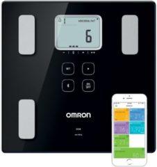 Zwarte Omron VIVA HBF-222T-EBK - Personenweegschaal - Smart