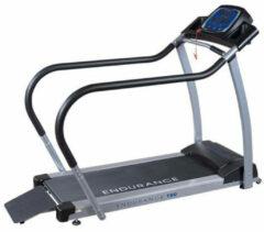 Grijze Body-Solid BodySolid T50 Loopband Met Handrails - Uitstekende Garantie - voor Senioren / Revalidatie / Beginnende Sporters