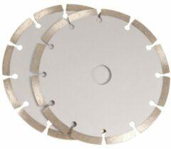Ferm WSA1001 Diamant-doorslijpschijf Diameter 125 mm 2 stuk(s)