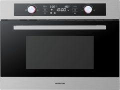 Roestvrijstalen Inventum IMC6044RK - inbouw combi magnetron oven - RVS