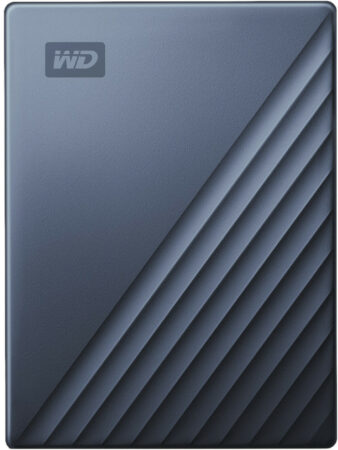 Afbeelding van Western Digital WD My Passport for Mac 4TB Type C Blauw