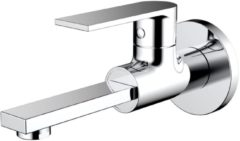 """Zilveren Best Design Toiletkraan Best-Design """"Vinka"""" wand"""