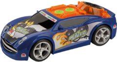 Happy People Raceauto Beatspeed Licht En Geluid 24 Cm Blauw