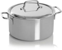 Zilveren Demeyere Apollo - Kookpan met deksel - RVS - 22 cm - zilver