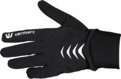 Vermarc Sports Fietshandschoenen Vermarc Roubaix Zwart/Wit - Maat: L/XL, Kleur: Zwart