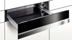Roestvrijstalen Bosch BIC630NS1 inbouw warmhoudlade restant model met 3 functies