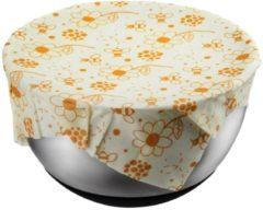Creme witte GEFU Beewax wraps Set/3