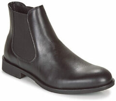 Zwarte Selected Homme Heren Chelsea Boots - Black - Maat 46
