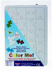 Witte Collall blanco puzzel A5 20pcs